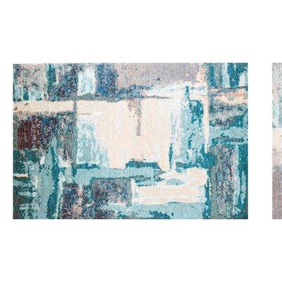 Phares Blue/Cream Area Rug