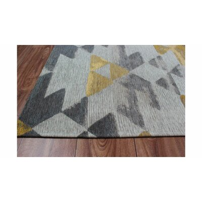 Trujillo Gray/Yellow Area Rug
