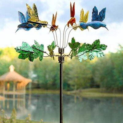 Hummingbird Metal Wind Spinner