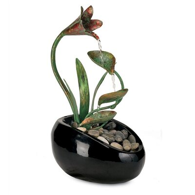 Fibreglass Lily Water Fountain WIWE1209 28231943