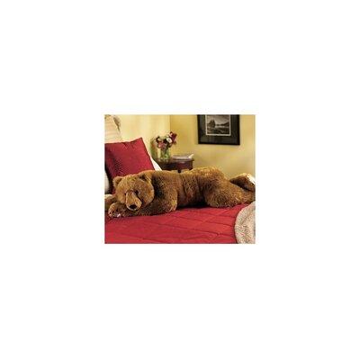 Bear Hug Body Pillow Color: Brown
