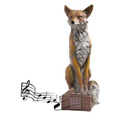 Noble Fox Statue GO7359