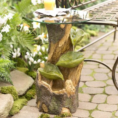 Indoor/Outdoor Fountain Side Table