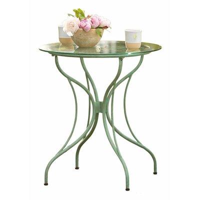 Metal Leaf Bistro Table