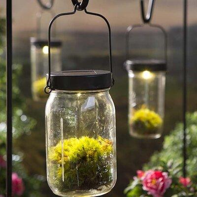 Solar Mason Jar Light Kit Decorative Lantern LT7656