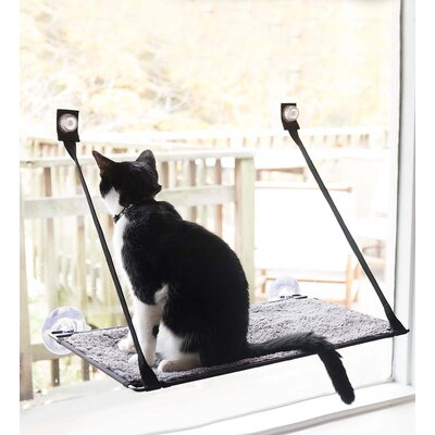 Window Sill Cat Bed with EZ Window Mount�