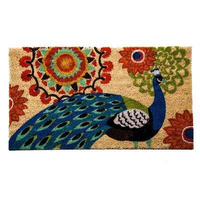Peacock Coir Doormat