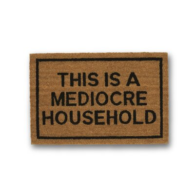 This Is A Mediocre Household Coir Doormat