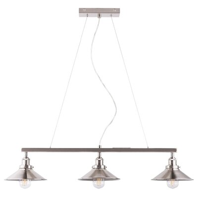 Montreal 3-Light Kitchen Island Pendant