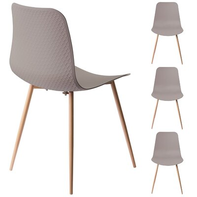 Ebbert Dining Chair Finish: Stone