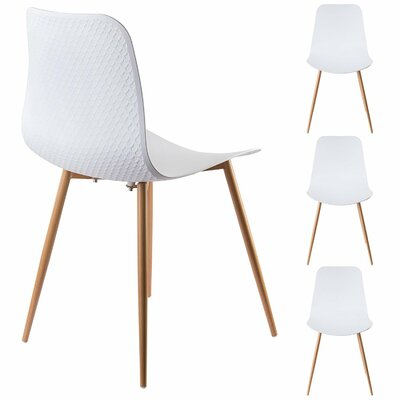 Ebbert Dining Chair Finish: White