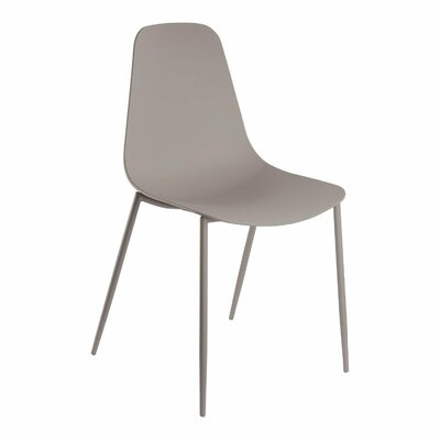 Oclie Dining Chair Finish: Stone