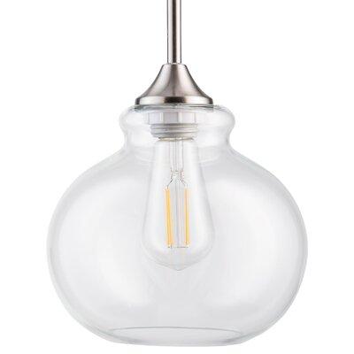 Dunnam 1-Light LED Schoolhouse Pendant