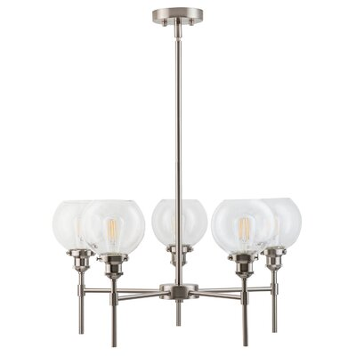 Dunneback 5-Light Candle-Style Chandelier