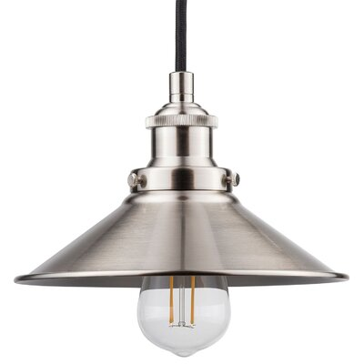 Acquah 1-Light LED Mini Pendant Finish: Brushed Nickel