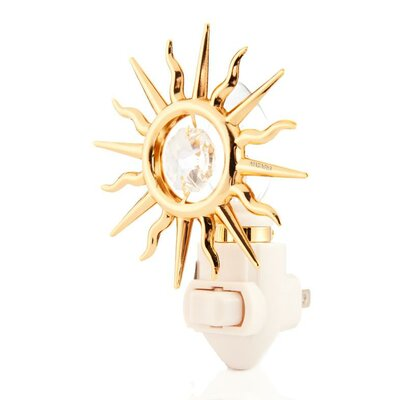 24K Gold Plated Sun Night Light