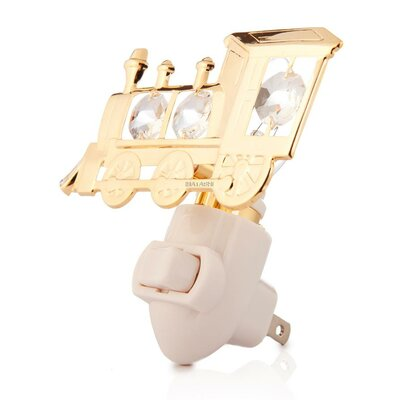 24K Gold Plated Locomotive Night Light