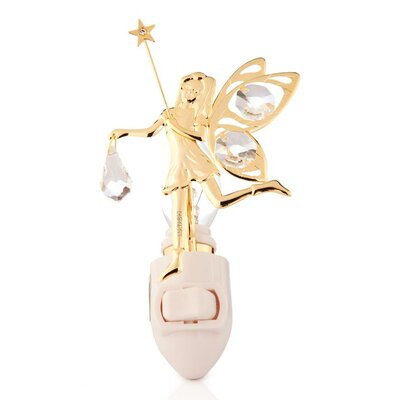 24K Gold Plated Fairy Night Light