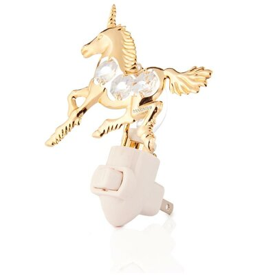 24K Gold Plated Unicorn Night Light