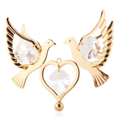 Love Doves Hanging Ornament CT0184