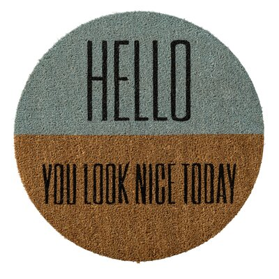 Hamby Hello You Look? Doormat