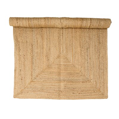Powley Natural Area Rug Rug Size: Rectangle 47 x 66
