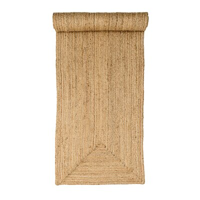 Powley Natural Area Rug Rug Size: Runner 24 x 711