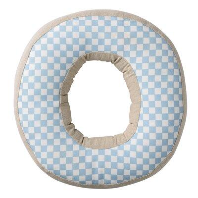 Cotton Throw Pillow Letter: O
