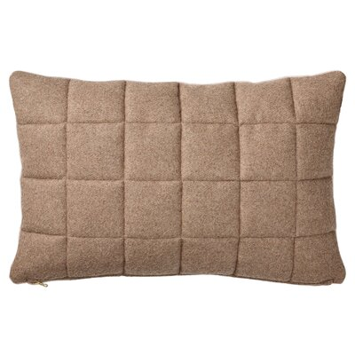 Quilted Recycled Wool Throw Pillow A27190004
