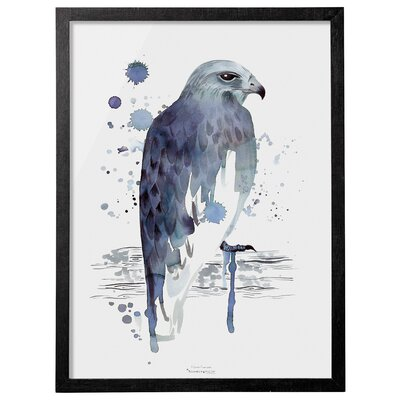 Eagle Framed Painting Print