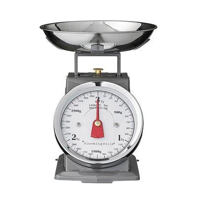 Mint Pantry Baran Mechanic Metal Kitchen Scale 85060763D0EC48279BA022A9AF87183F
