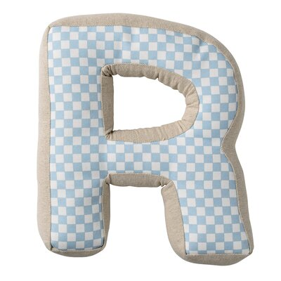 R with Pattern Cotton Pillow