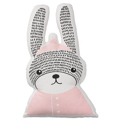 Bloomingville Rabbit Shaped 100% Cotton Throw Pillow A95500032