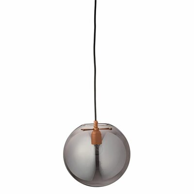 1 Ball Light Mini Pendant Shade Color: Smoke