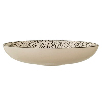 Julie Ceramic Low Decorative Bowl