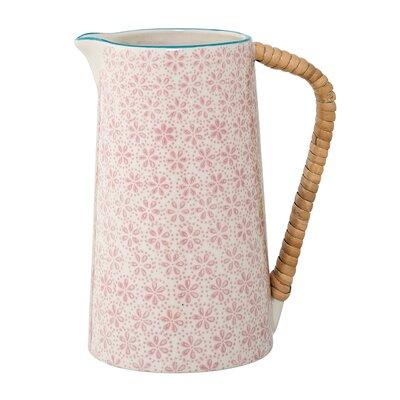 Burge Pink Ceramic Pitcher 94AC1171FD0B4ACE8045A27111FCC86A
