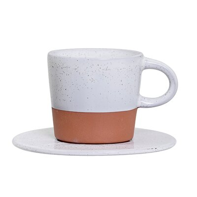 Bloomingville Evelyse Mug with Round Saucer A75176710SET