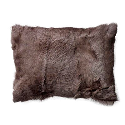 Lumbar Pillow Size: 10 H x 20 W x 2 D, Color: Gray
