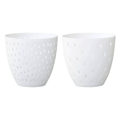 Saki 2 Piece Ceramic Votive Set