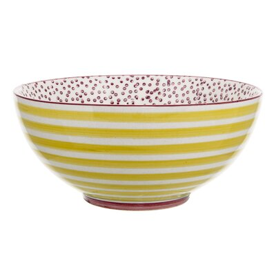 Patrizia Round Ceramic Decorative Bowl