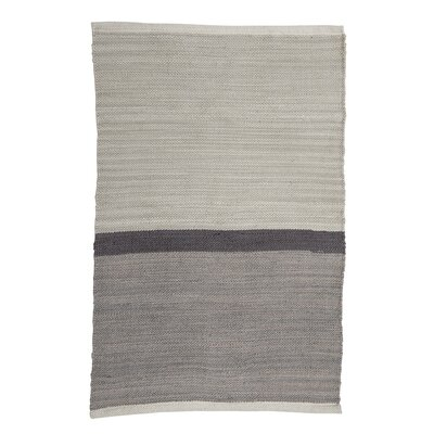 Fabric Gray Area Rug