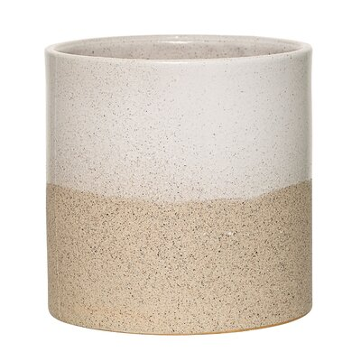 Barbara Ceramic Pot Planter Size: 5.71 H x 5.71 W x 5.71 D