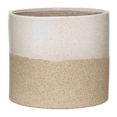 Barbara Ceramic Pot Planter Size: 6.89 H x 7.87 W x 7.87 D