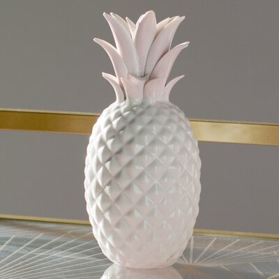 Ceramic Pineapple Figurine