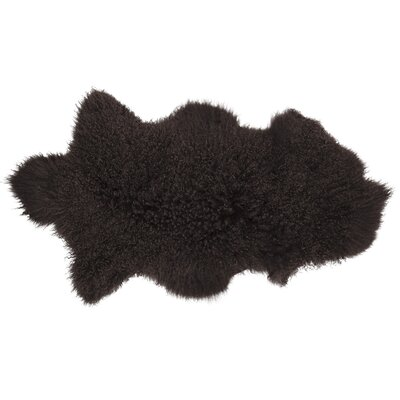 Willenhall Sheepskin Brown Area Rug