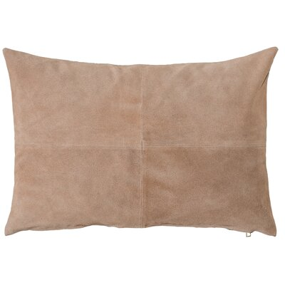 Burban Lumbar Pillow Color: Brown