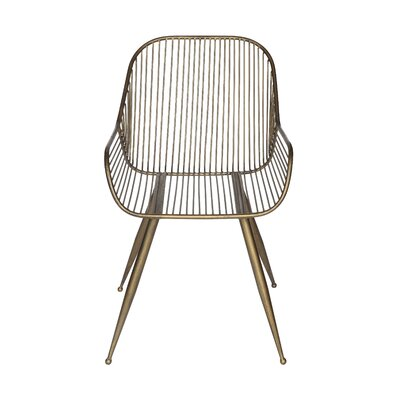 Mcmorrow Metal Armchair (Set of 2)