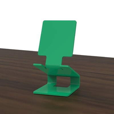 Mobile Device Holder Finish: Green