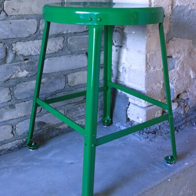 Bar Stool Size: 30 H, Finish: Green