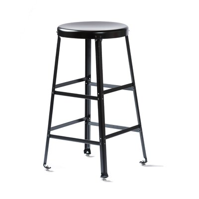 Bar Stool Size: 26 H, Finish: Black